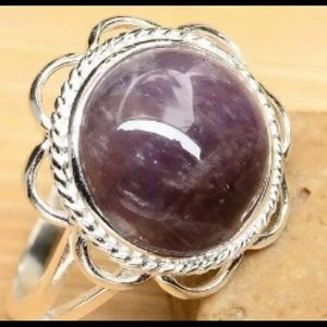 Size 4.75 sterling silver ring